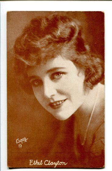 Primary image for ETHEL CLAYTON-SILENT STARLET-1920-ARCADE CARD! G