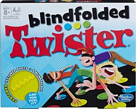 Hasbro Games - Blindfolded Twister Game - $14.09