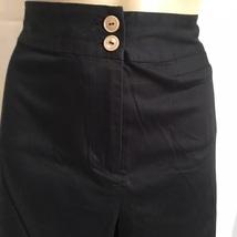 Chico's Black cotton blend capri pants 1 - $17.95