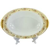 """Meito China The Windsor Shape 12"""" Serving Bowl 22 Kt Gold Vintage - $34.64"""
