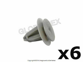 Mercedes (87-09) Trunk Panel Clips AUVECO NEW (6) + 1 year Warranty - $17.85