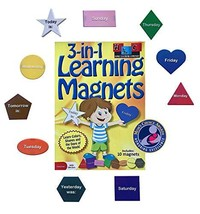 Home Learning Company 3-in-1 Learning Magnets for Kids. Early Childhood ... - $22.75