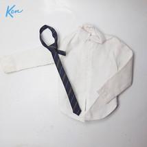 Vintage Ken Doll White Shirt + Tie - $9.50