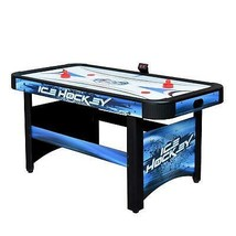 Youth Air Hockey Table 5 foot with Automatic Puck Return and Electronic ... - $269.76