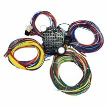 21 Circuit Wiring Harness Street Hot Rat Rod Custom Universal Wire Kit XL WIRES image 8