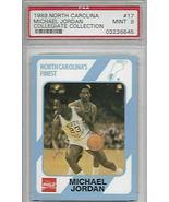 "Michael Jordan 1989 North Carolina #17""Tongue Out"" PSA 9 MINT - $75.24"