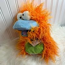 """Pappa Geppetto Hand Puppet Orange Fuzzy Manhattan Toy 2008 New 12"""" - $14.89"""