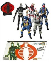 GI Joe 25th Anniversary Cobra Legions 5-Pack Box Set - $86.63
