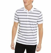 Calvin Klein Men's Liquid Cotton Slim-Fit Stripe Polo Shirt 2X Large