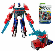 Transformers Commander Optimus Prime Cyberverse Action Figure Toy New in... - $28.99