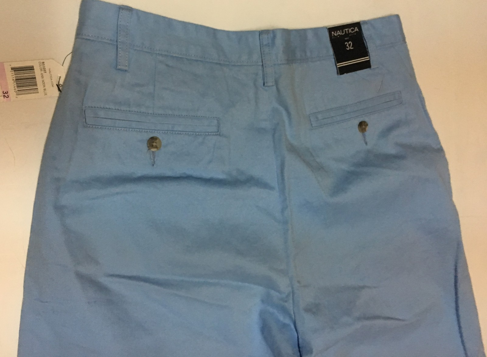 Nautica Men's Blue Deck Shorts Sz 32 NWT