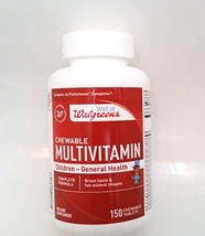 Walgreens Chewable Multivitamin/ Children-General Health/ 150 Chewable Tablets - $19.99