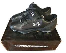 Under Armour Shoes UA Clutch Low Baseball Men Metal Cleats ST1097005-002 Size 14 - $30.40