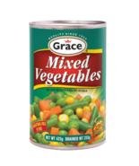 Grace Mixed Vegetables 225g (3 Tins) - $21.78