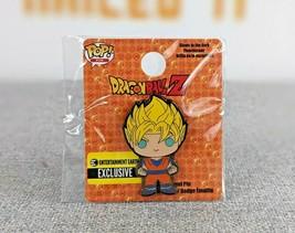 New Funko POP Pins Dragon Ball Z Super Saiyan Goku Enamel Pin EE Exclusive LE - $12.99