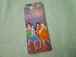 Sailor moon bookmark card sailormoon  Q Pot inner  group - $6.00