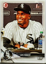 HOT! 1ST BOWMAN CARD! LUIS ROBERT ROOKIE 2018 BOWMAN PROSPECTS #BP21 PH... - $399.95