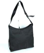 Auth SALVATORE FERRAGAMO Black Nylon Leather Hobo Shoulder Bag Italy AU-... - $147.51