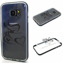 S7 Case,Galaxy S7 Case,XYX [Coffee making] 2 in 1 Hybrid Transparent Pat... - $3.95