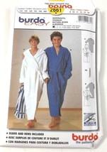 Burda 2661 Sewing Pattern Boys Robe Bathing Gown Size 9 Thru 14 Uncut - $12.99