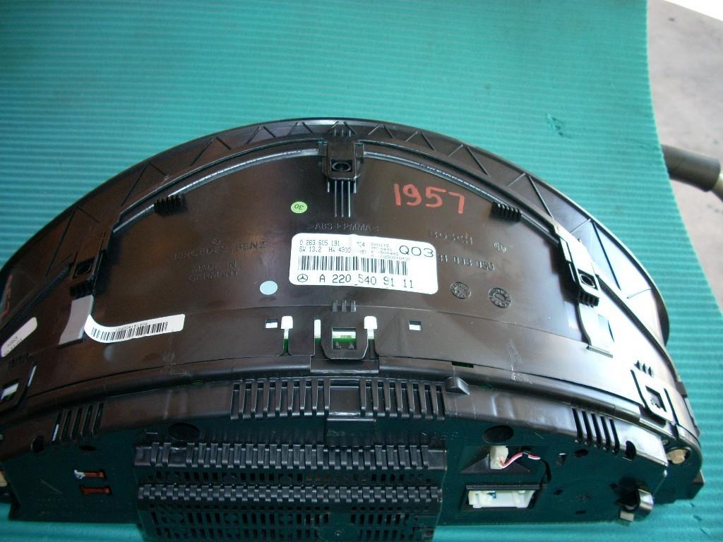 2001 2002 MERCEDES S55 S-CLASS SPEEDOMETER INSTRUMENT CLUSTER 2205409111 OEM