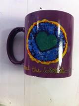 PENZEYS COFFEE MUG--COOK DINNER TONITE.--HEEL THE WORLD--FREE SHIP--VGC - $16.16