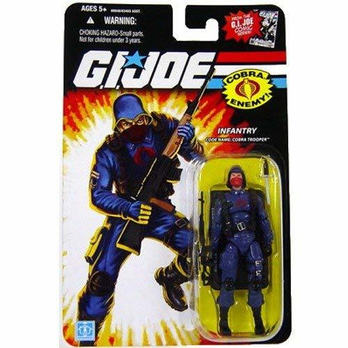 G.I. Joe 25th Anniversary Figure Cobra Trooper Comic Series (Red Logo On Chest)