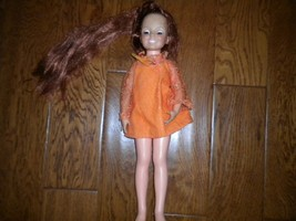 "1969 Vintage Ideal Toy Crissy Doll 18"" Original Dress Adjustable Hair - $64.35"