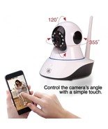 Streetwise IP Wireless Camera w/ Pan & Tilt Nanny Cam Phone App Motion I... - $69.90