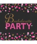 Bachelorette Night 16 ct Beverage Napkins Shower Bridal - $3.46