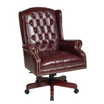 Office Star Deluxe High Back Traditional Executive Chair with Thick Padd... - $625.00