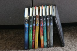 The 39 Clues Lot Of 9 Hardcover Some Cards Riordan Korman Chapter Book b... - $29.95