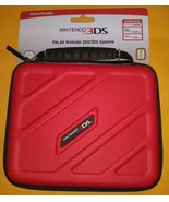RDS Nintendo Game Traveler Case Nintendo 2DS 3DS 3DSXL (3DS205) Red New - $14.84