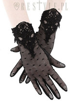 """Restyle Romantic """"Guipure Gloves"""" - $14.03"""
