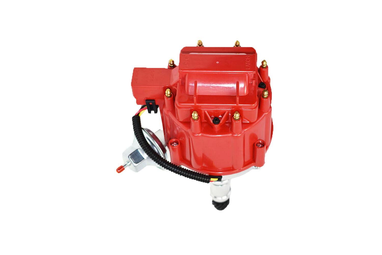 Buick Big Block BB 400 430 455 HEI Distributor 65K Volt Coil Red Cap