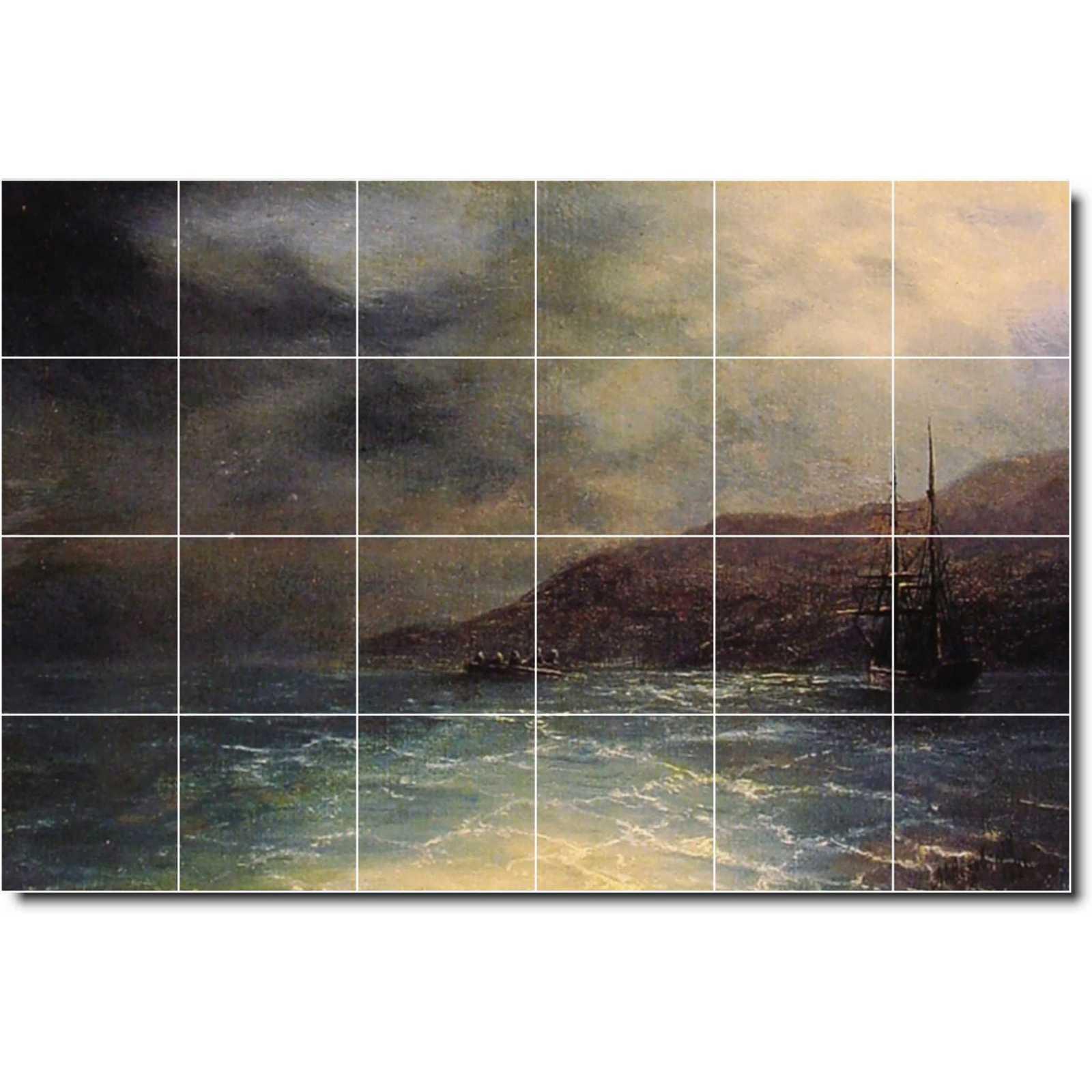 Aivazovsky ivan nocturnal voyage