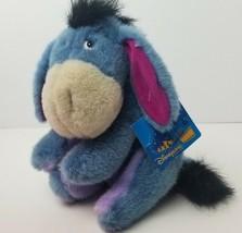 "Disneyland Paris 12"" Eeyore Plush Winnie the Pooh Stuffed Donkey Hang Ta... - $25.16"