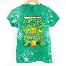 Teenage Mutant Ninja Turtles Custom Bleach Graphic Tee T-Shirt TNMT Size S - $39.59
