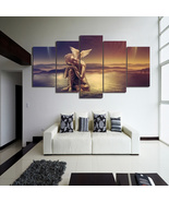 Buddha 5 Piece Canvas Wall Decor No. BD-4100 - $44.13+