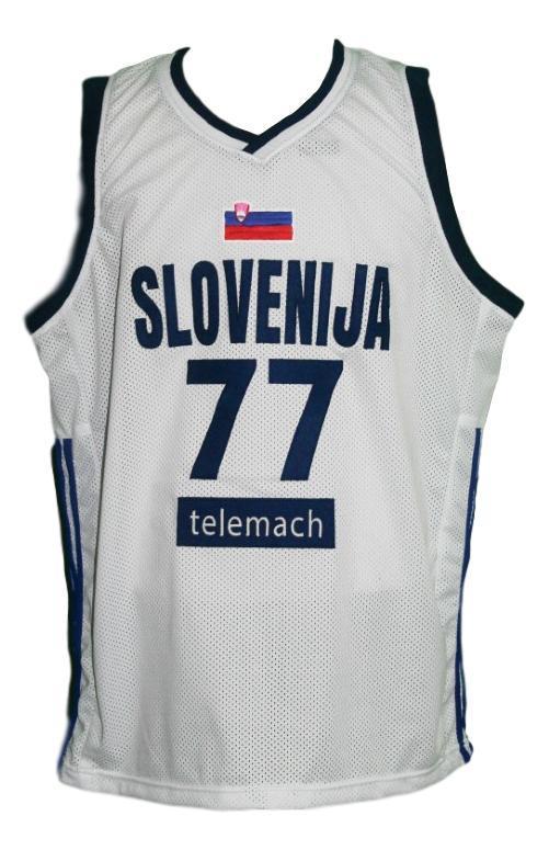 Luka doncic  77 slovenia basketball jersey white   1