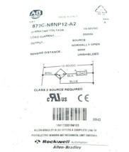 NEW ALLEN BRADLEY 872C-N8NP12-A2 PHOTOELECTRIC SENSOR 10-30VDC SER. A