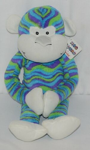 Fiesta Brand Mod Squad Collection A49879 21 Inch Wavy Stripes Cuddle Monkey