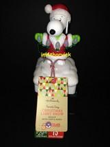 Hallmark 2015 Snoopy Peanuts Gang Christmas Light Show Wireless NWT - $199.99
