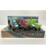 Mod Mobiles Cars. Set B. Fat Brain Toys. Interchangeable Foam Shapes. Bu... - $10.37