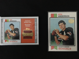 2001 Topps Archives Ken Anderson Stadium Seat Riverfront Stadium  and Ar... - $10.99