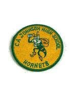 CA Johnson Hornets High School Sew on Patch Varsity Jacket - $13.99