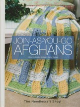 "Hard Covered Book ""Join-As-You-Go Afghans"" - The Needlecraft Shop - Gent... - $18.00"