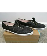 KEDS for KATE SPADE Black New York Champion Glitter Sneakers - Size 9 1/2 - $59.99