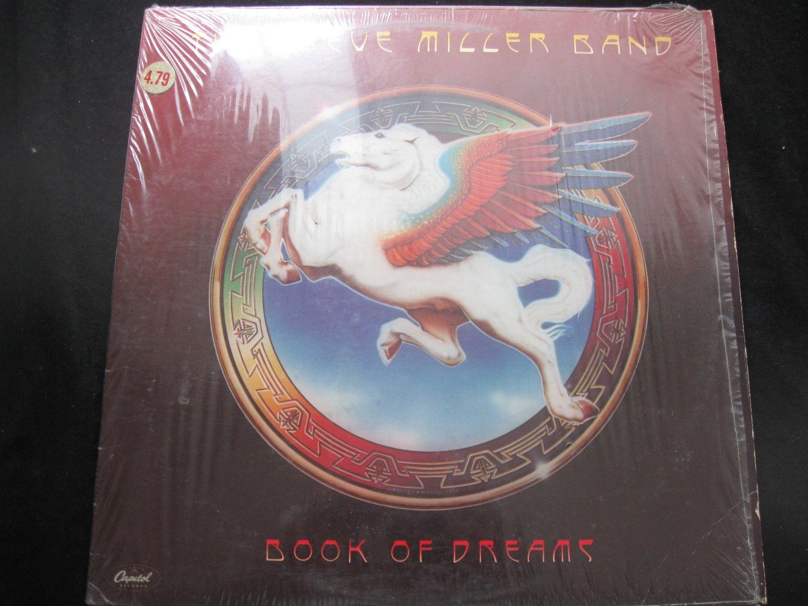 Steve Miller Band Book Of Dreams Capitol SQ-11630 Vinyl Record LP Open Shrink