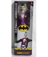 "2018 Batman Joker DC 12"" Mattel True Moves Action Figure SEALED - $17.59"